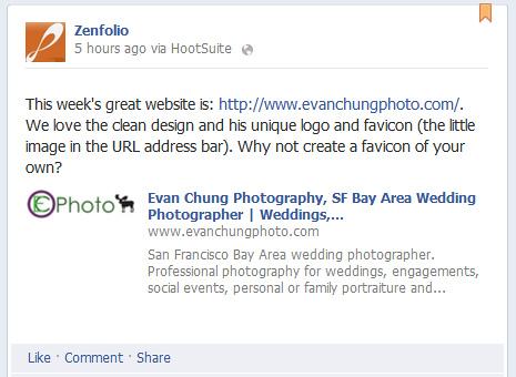 Zenfolio Photographer of the Week
